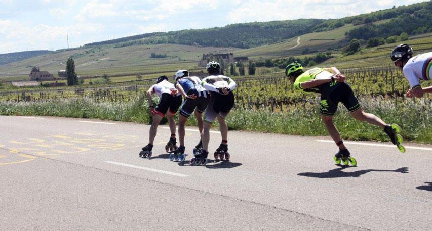 Marathon roller des Grands Crus