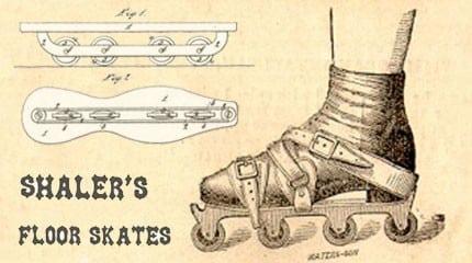 presentation shaler parlor skates 1960 small