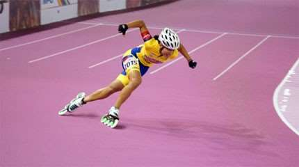 pronostics sprint seniors dames mondial roller course 2016