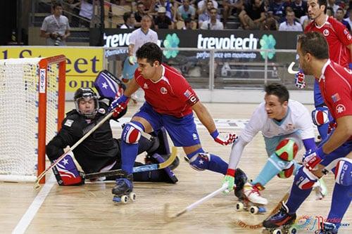 Quart de finale du championnat du monde de rink hockey 2015