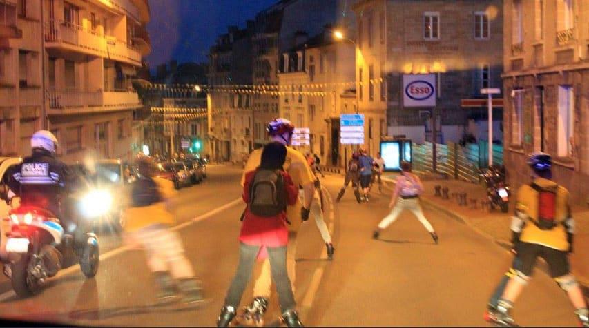 Randonnée roller de Limoges