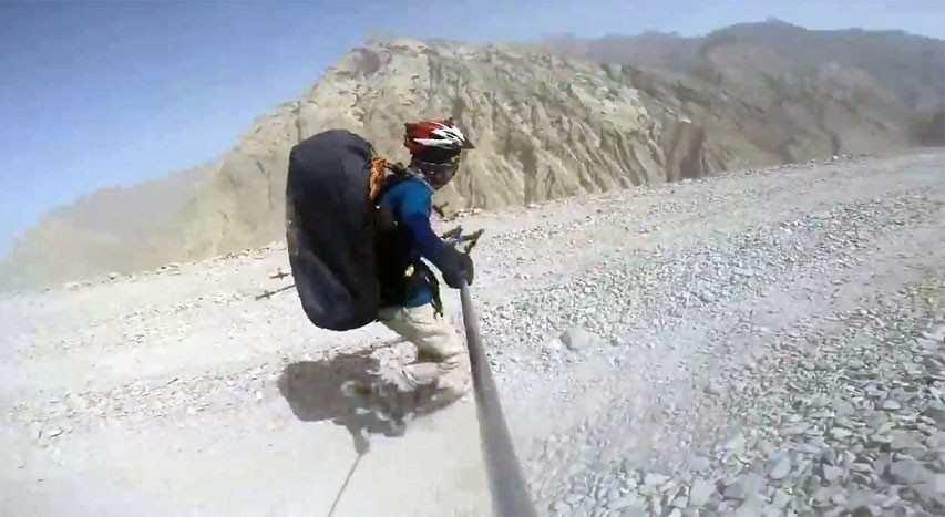 Un raid roller extrême au Tibet avec Yinca Luo (Chine)