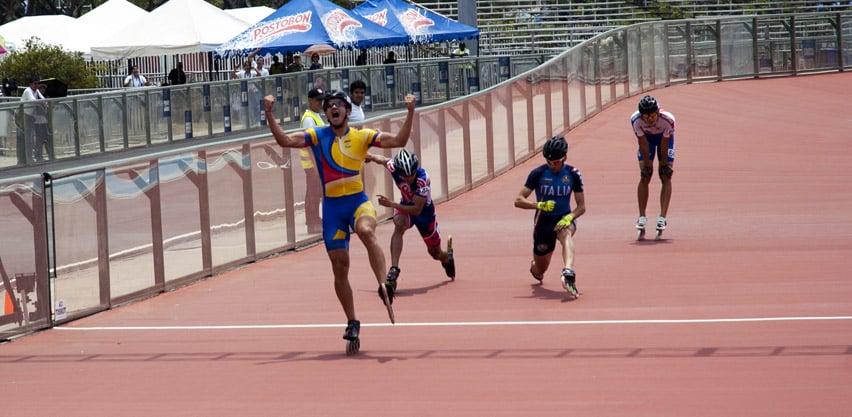 Finale du 500 m senior hommes