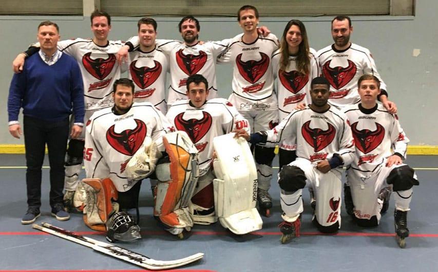 Roller hockey équipe N2 contre Paris XIII