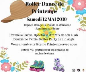 Roller dance de printemps 2018 à Asnières (92) @  | Asnières-sur-Seine |  |