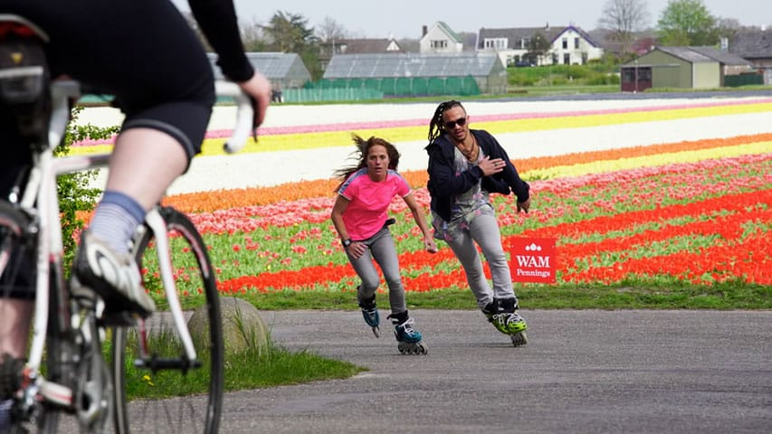 Roller aux Pays-Bas (photo : Rollerblade)