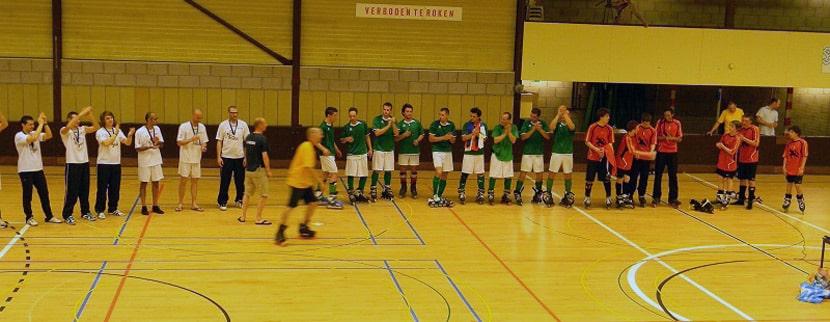 Samo Bagec champion d'Europe de roller soccer
