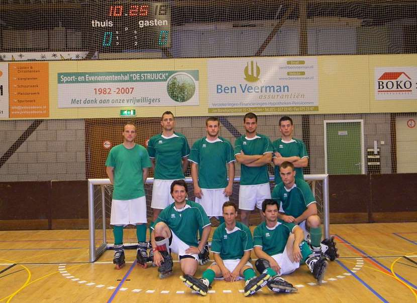 Samo Bagec, champion d'Europe de Roller Soccer