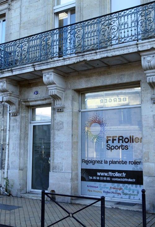 Les bureaux de la FFRS à Bordeaux