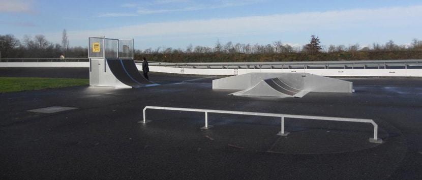 Spot : le skatepark et la piste de vitesse de Saint-Philbert-de-Grand-Lieu