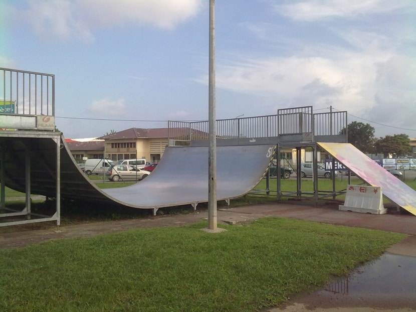 Spot : le skatepark de Mirza à Cayenne (Guyane)