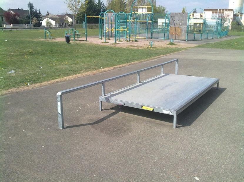 Spot : le skatepark de Cosne-Cours-sur-Loire (58)