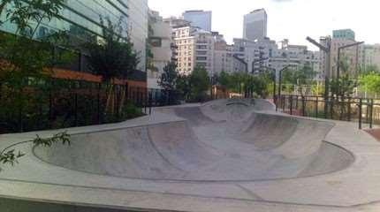 skatepark courbevoie cyril small