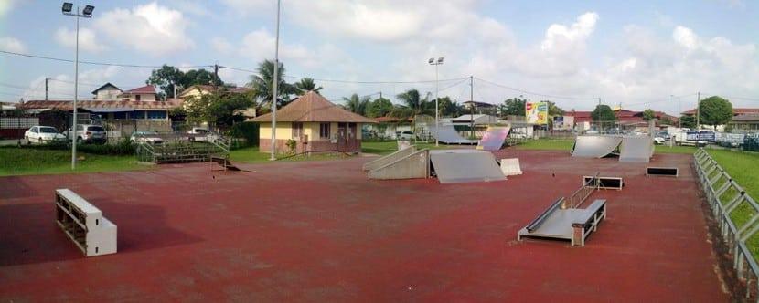 Spot : le skatepark de Cayenne en Guyane