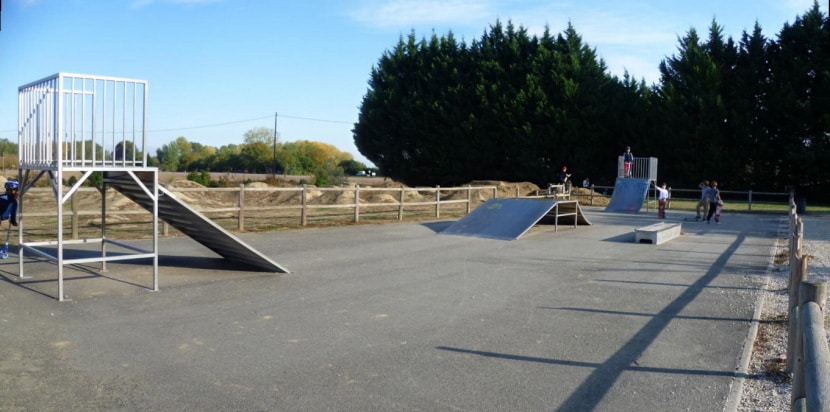 Le skatepark de Grenade sur Garonne (31)