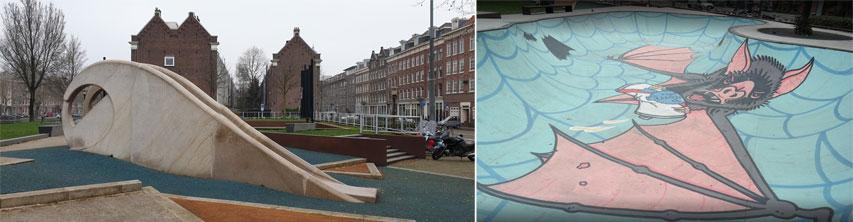 Skatepark de Marnixstraat à Amsterdam