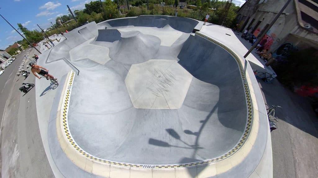 Vue du bowl de Pau (64)