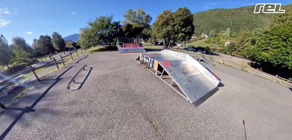 Le skatepark de Sevrier (74)