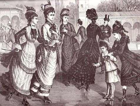 Roller Skating en 1876