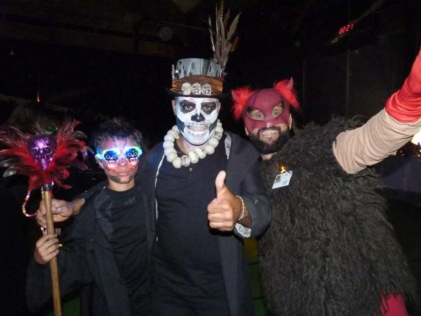 soiree roller halloween st paul 3 chateaux 2014