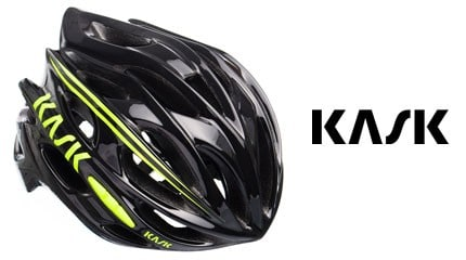 test casque kask mojito noir jaune small