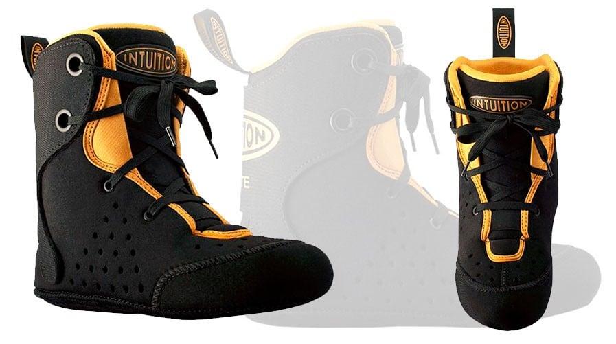test chausson intuition skate v2 noir orange small