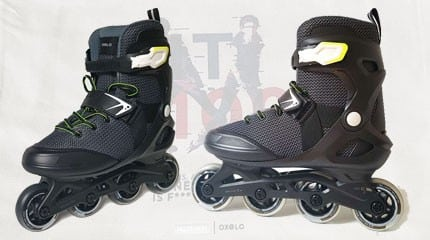 test roller oxelo fit 100 small
