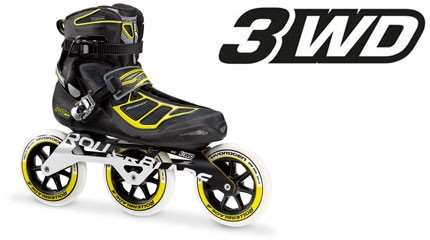 test rollerblade tempes 125 3wd small