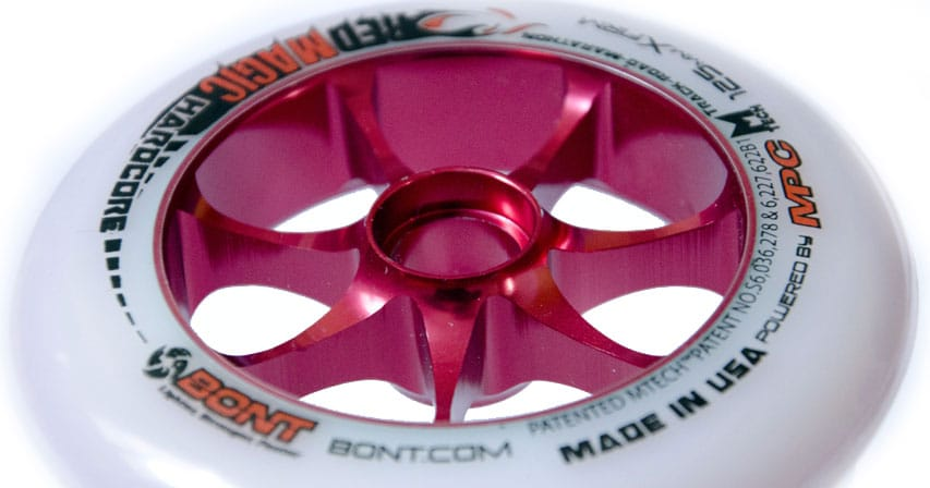 Roue Bont/MPC Red Magic Hardcore 125 mm