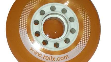 test roue rollx freeride small