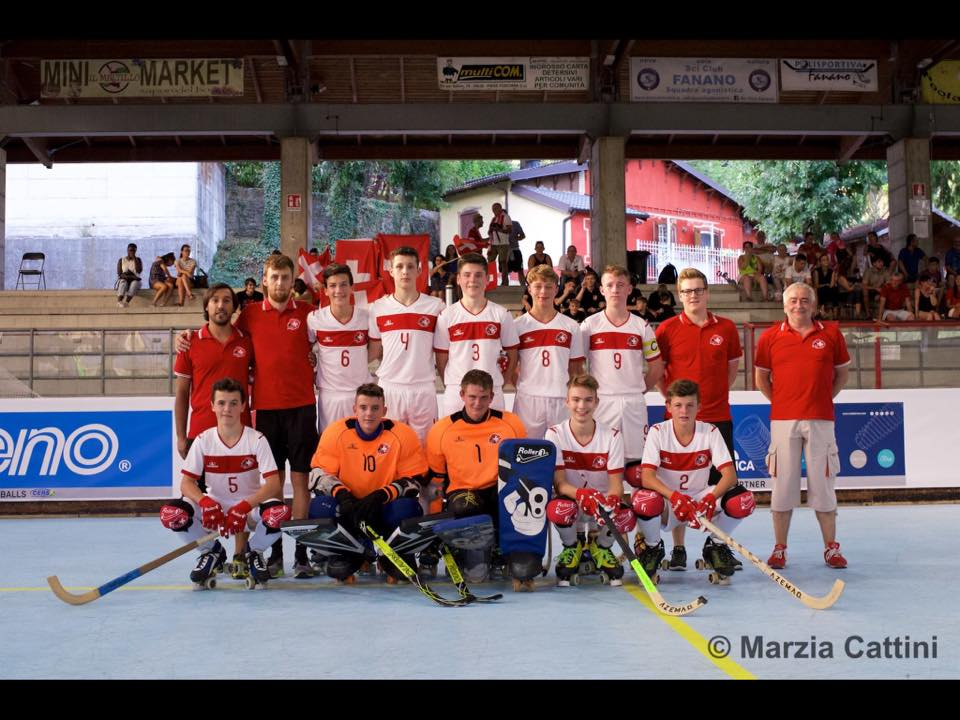 Equipe Autriche rink Hockey U17