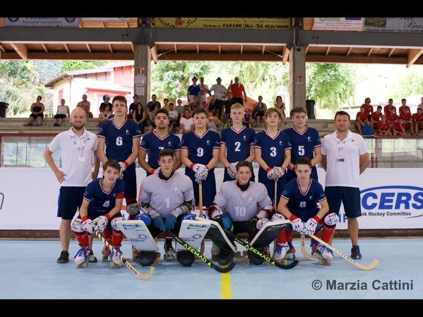 u17 rink hockey france