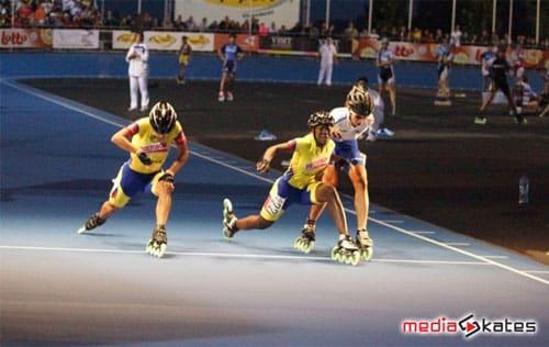 Junior ladies - impressive sprint !