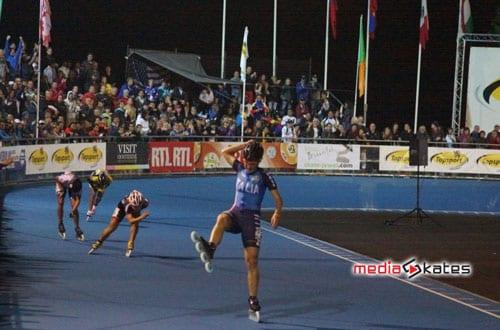 Senior Women - Lollobrigida winning the race