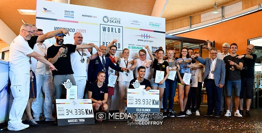 video records monde heure roller 2020