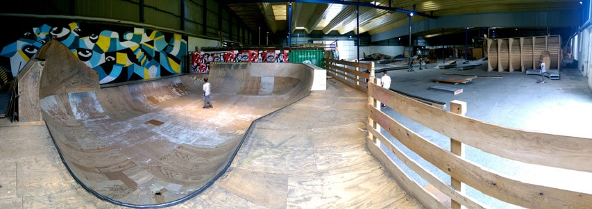 Caserne Niel (le bowl du Hangar Darwin)