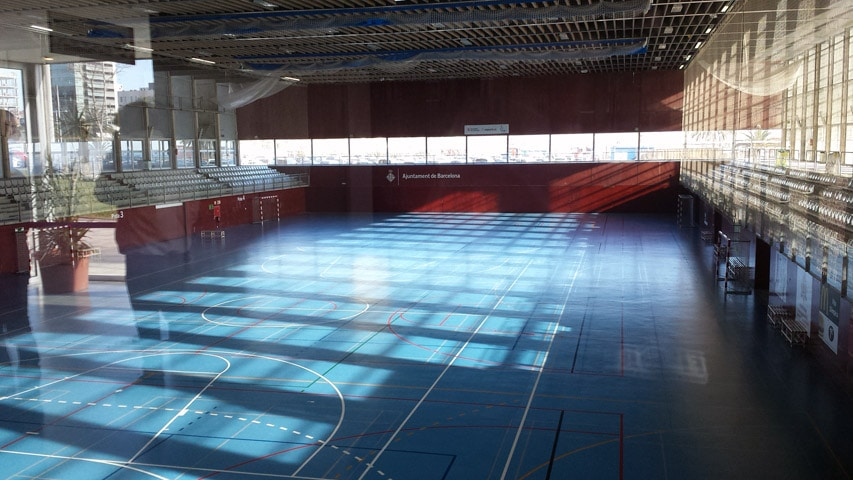 Salle des finales du hockey