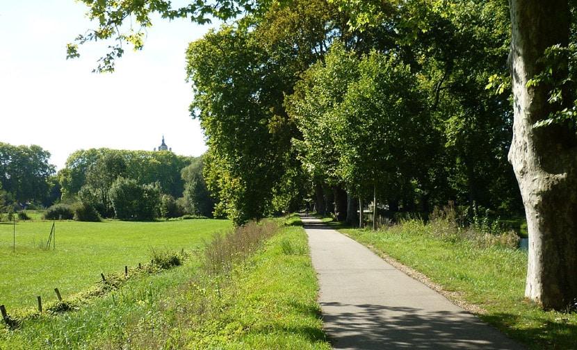 La voie verte de Dole à Orchamps