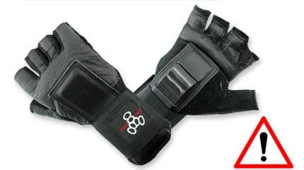 wrist guard lux hommes small