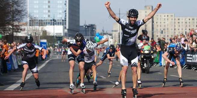 Yann Guyader : victoire au semi-marathon Vattenfall 2012