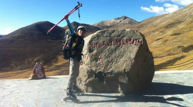yincai luo chine montagne roller small
